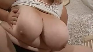 German Mature BBW with massive Breasts