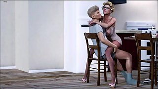 Xtreme story My friends hot mom in the kitchen 2