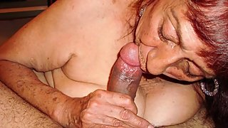 LatinaGrannY Blowjob and Granny Sex Compilation