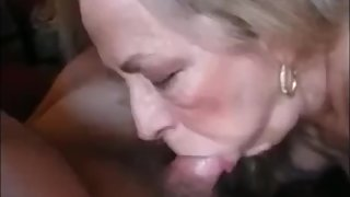 Nice Granny Sucking Hubby Dick