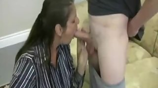 Mature Jerking off the Neihbors Son