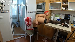 fucked on the kitchen table - katevixxen livejasmin in 4k