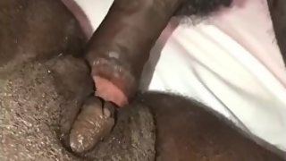 Ebony BBW getting fucked hard!