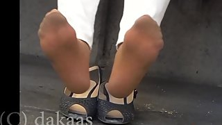2nd try of mature asian double-feature (nylon and bare feet)