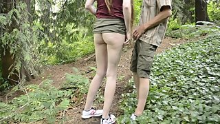 Felt up in the forest ???? Strangers POV public oral hook up