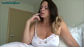 Her Clingy White Slip by Diane Andrews Taboo MILF Role Play