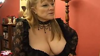 French mature DP, Brigitte Berthet anal, DP 3some