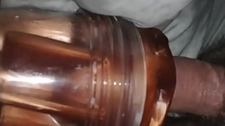 young premature cum in fleshlight