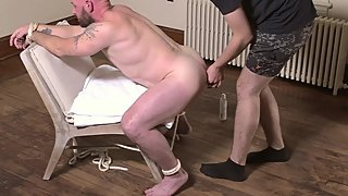 muscle dad bound and fucked