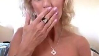 Super Hot Milf strips on cam in her bedroom