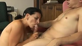 Gorgeous Mature Cougar Fucks Younger Lover At Home Voyeur