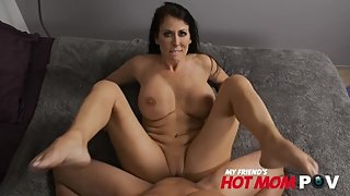 hot milf Reagan Foxx loves to fuck young cock