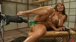 Ava Devine fucked by machines