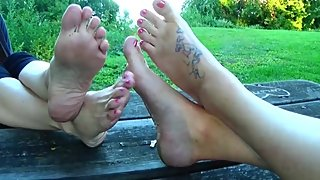 Amateur Mature feet