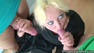 Fools and fucking in class - GrandmaFriends