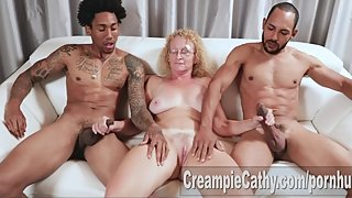 Massive BBC Creampie For Milf