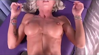 Real wife stepmom loves cumshot by her son