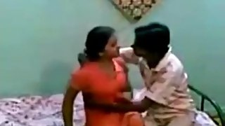 Red churidar girl fuck and blowjobe
