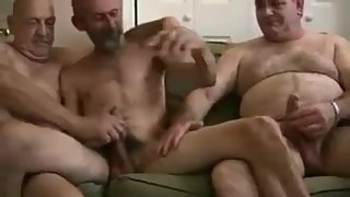 Mature Men Jack off And Cum