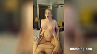 Divorced Mom Riding On Cock