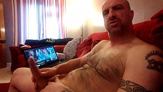 British mature bloke quick wank to granny porn