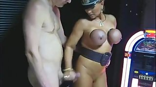 mature lady handjob