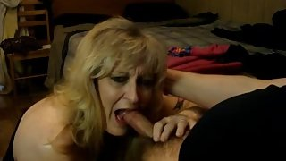 "MILF BEGS ""PLEASE DON'T CUM IN MY MOUTH"""
