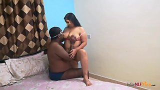 Indian Bhabhi Shanaya Seducing Her Husband After Hectic Daily Routine Life