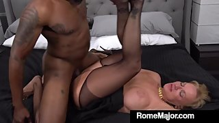 Horny Grandma Presley St Claire Wrecked By Rome Major's BBC!