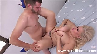 Porn Casting - big cock checked with 2 cumshots