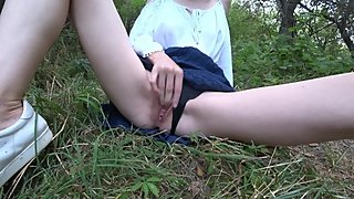 Fuck Young Sister in the forest