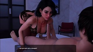 Milfy city Xtreme story Linda in your room (stocking edition)
