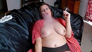 Smoking Fetish, Big Tit Play, Dirty Talking MILF