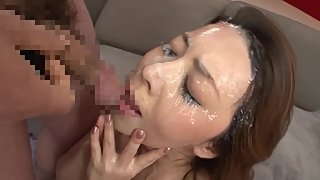 Yumi Kazama - Mature Shower Bukkake