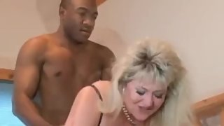 Mature Bbw Bbc interracial cuckold Pantyhose