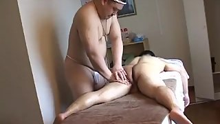 Asian Bear massage