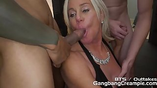 Payton Hall - Outtakes of Gangbang Creampie