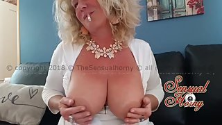 Another sexy Smoke video... Your hot smoking mature loves to tease...