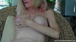 Melanie Is Such A Horny Cock Slut