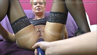 perfect anal mature dildo