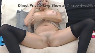 Phone sex experience with a mature blonde