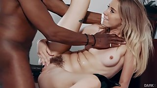 Haley Reed fucked by black old guy