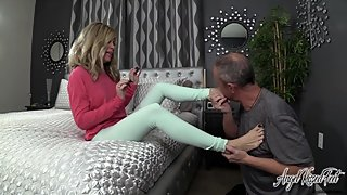 Wicked Treachery - footboy Compelled To Worship Feet - Nikki Ashton -