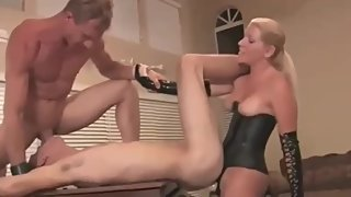 Mature Dom Couple Makes Young Stud their Bitch