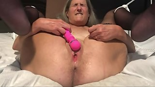 Hot MILF Closeup Big Squirt Mature Granny 60 Year Old
