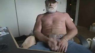 Verbal Old Man Cums