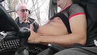 Blowjob at rest area