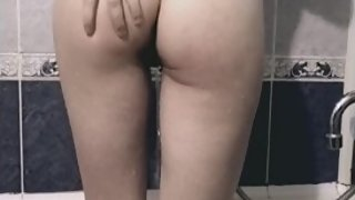 2 hentai lesbians playing in the bathroom ,hot
