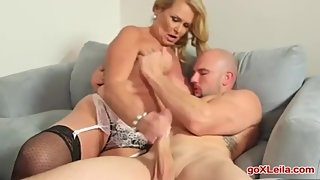 Blonde Big Ass Milf Fucked