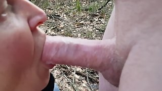 2 Oldies - Outdoor Car Sex and Public Forest Fuck/Blowjob with multi Cum